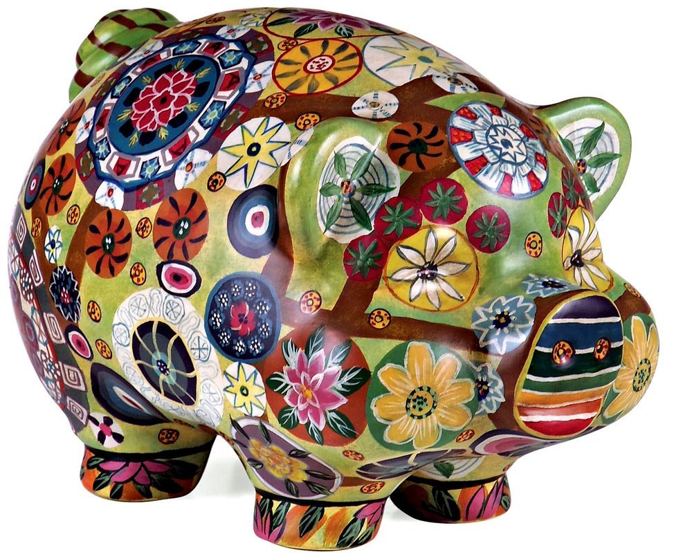 Unique adult piggy banks make delightful gifts for senior Decorative piggy banks for adults
