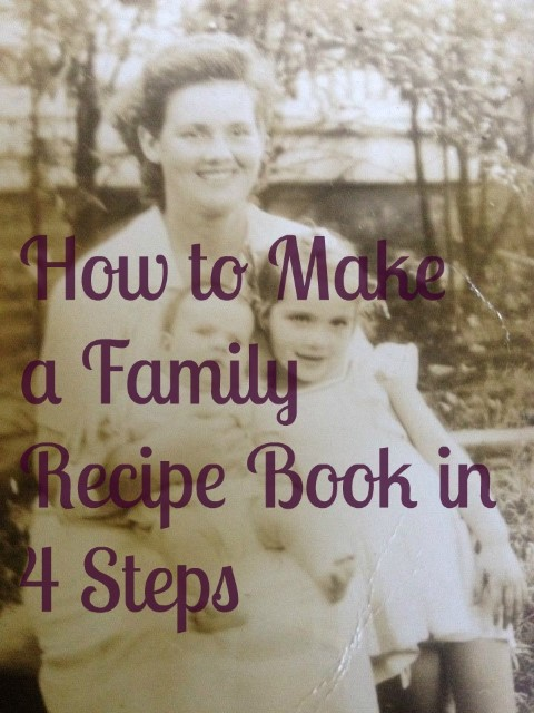 How To Make A Recipe Book Cover : How to make a family recipe booklife after