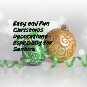 easy and fun Christmas decorations